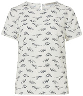 Sugarhill Boutique Dinosaur Print Top