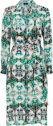 Wallis Blue Tie Dye Shirt Dress