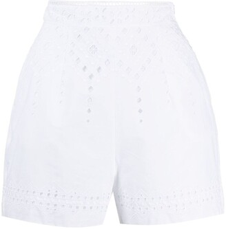 Ermanno Scervino Broderie Anglaise Shorts