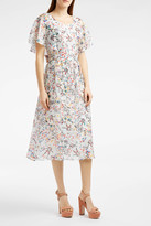 Paul & Joe Floral-Print Silk Dress