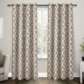 Exclusive Home Gates Blackout Thermal Grommet Top Window Curtain Panels