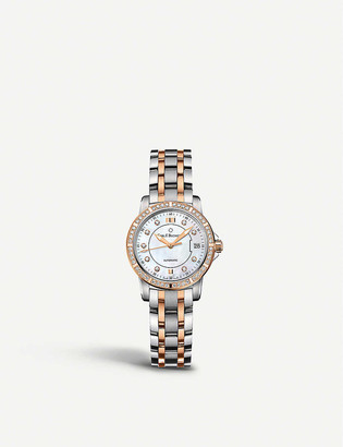 Carl F Bucherer 00.10621.07.77.31 Stainless Steel and Rose-Gold Diamond watch