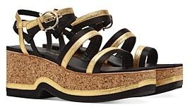 Salvatore Ferragamo Women's Strappy Platform Sandals