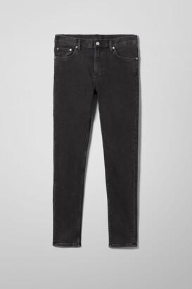 Weekday Form Skinny Jeans - Black