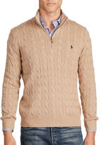 Polo Ralph Lauren Tussah Silk Half-Zip Sweater