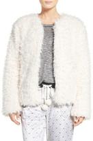 Kensie Faux Fur Cardigan