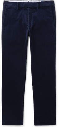 Polo Ralph Lauren Navy Cotton-Blend Corduroy Trousers