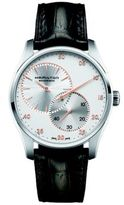 Hamilton Jazzmaster Regulator Auto Stainless Steel & Embossed Leather Strap Watch