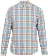 Faherty Seaview plaid cotton-flannel shirt
