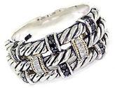 EFFY Balissima Sterling Silver & 18 Kt. Yellow Gold Diamond Ring