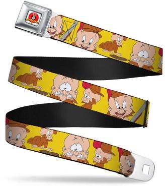 Buckle Down Buckle-Down Men's Seatbelt Belt Elmer Fudd Kids