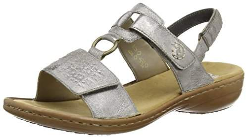 40 40 Toe 60887 Closed Sandalsgrey Women's XluwOPZTki