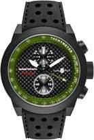 Glam Rock Men's Racetrack 48mm Silicone Band Swiss Quartz Watch Grt29117f-N