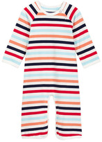 Toobydoo Janvier Striped Jumpsuit (Baby Girls)