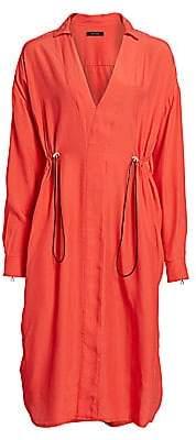 artica-arbox Women's Drawcord Shirtdress