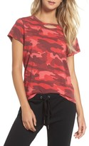 Rag Doll Women's Ragdoll Distressed Camo Tee