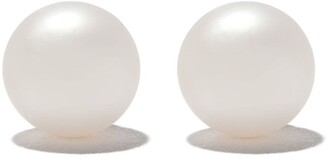 Yoko London 18kt white gold Classic Akoya pearl stud earrings