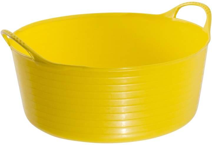Tubtrugs Winter Warmers Multipurpose Flexible Shallow Tub, XX Yellow 15L