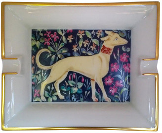 One Kings Lane Vintage Hermes Majestic Dog Ashtray - The Montecito Collection