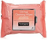 Neutrogena Cleansing Wipes, Pink Grapefruit, 50 Count