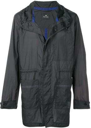 Paul Smith parka lightweight rain jacket