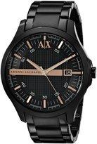 Giorgio Armani Classic AX2150 Men's Wrist Watches, Dial