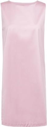 Theory Cotton-sateen Mini Dress