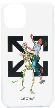 Off-White Pascal Skeleton iPhone 11 Pro case