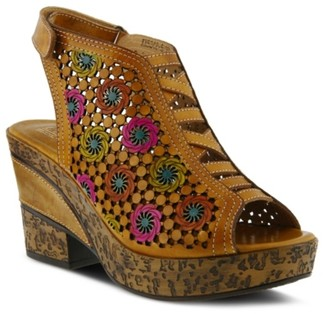 L'artiste By Spring Step Step Bewitched Wedge Sandal