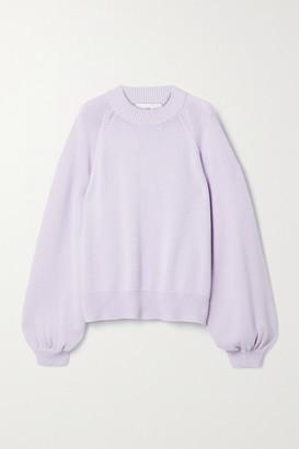 I Love Mr Mittens Oversized Cotton Sweater