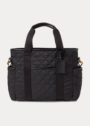 Ralph Lauren Quilted Diaper Bag
