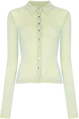 Supriya Lele Layered mesh skinny shirt