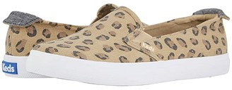 Keds Darcy Slip Leopard (Brown) Women's Shoes