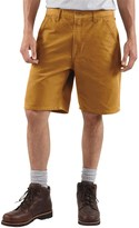 Carhartt Work Shorts - Washed Duck (For Men)