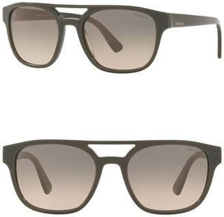 Prada 56 MM Square Sunglasses