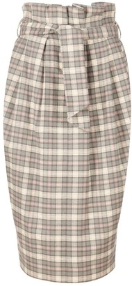 A Line Clothing Tailored High-Waisted Skirt
