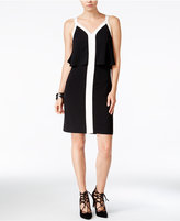 Bar III Colorblocked Popover Dress, Only at Macy's