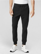 Calvin Klein Collection Performance Jersey Pant With Luxe Cotton Binding