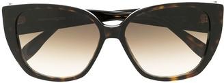 Alexander Mcqueen Eyewear Seal cat-eye sunglasses