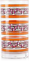 Jonathan Adler Orange Mykonos Acrylic Highball Glass