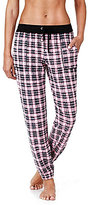 Kensie Plaid Jogger Pajama Pants