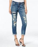 Miss Me Ripped Cropped Boyfriend Jeans