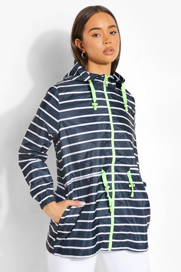 Thumbnail for your product : boohoo Stripe Print Mac