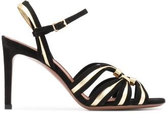 L'Autre Chose Multi-Strap Sandals