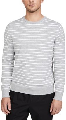 Calvin Klein Jeans Long Sleeve Stripe Liquid Crew Neck Sweater