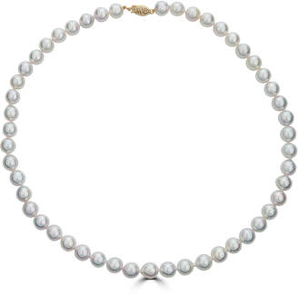 "BELPEARL Classic 14k Graduated-Pearl Necklace, 18""L"