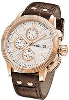 TW Steel 'CEO Adesso' Quartz Stainless Steel Casual Watch, Color:Brown (Model: CE7014)