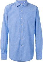 Glanshirt chambray shirt - men - Cotton - 42