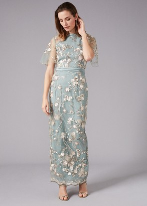 Phase Eight Glenda Floral Embroidered Maxi Dress