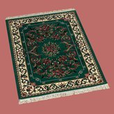 Unknown Rugs Hunter Green Polypropylene Rug 3ft. 11in. X 5ft. 7in.